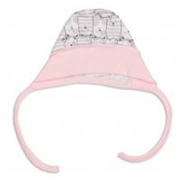 Kepurė kūdikiui išvirkščiom siūlėm
