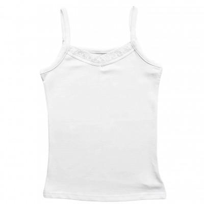 Apatiniai marškinėliai be rankovių (baltos spl.)