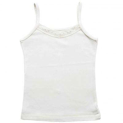 Apatiniai marškinėliai be rankovių (pieno spl.)