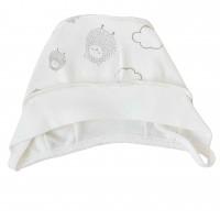 Kepurė kūdikiui išvirkščiom siūlėm Avytės