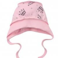 Kepurė kūdikiui išvirkščiom siūlėmis Mažoji Princesė