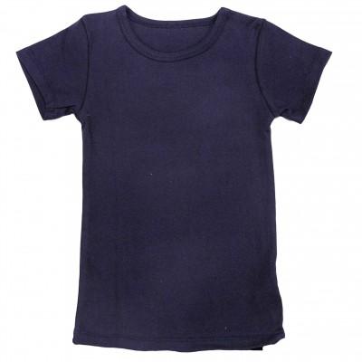 Apatiniai marškinėliai trumpomis rankovėmis (tamsiai mėlyna)