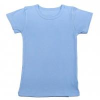 Apatiniai marškinėliai trumpomis rankovėmis (melsva)