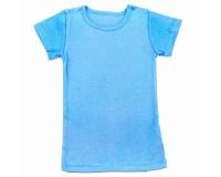 Apatiniai marškinėliai trumpomis rankovėmis (mėlyna)