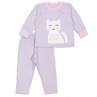 """Vaikiška pižama su pūkeliu """"Cute kitty"""""""