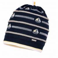 """Jamiks kepurė berniukui """"Laiveliai"""" 46 cm"""