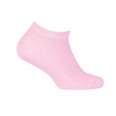 WOLA trumpos, plonos medvilnės rausvos kojinės