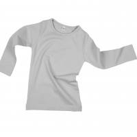 Pilkos spalvos marškinėliai