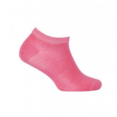 WOLA trumpos, plonos medvilnės avietinės kojinės
