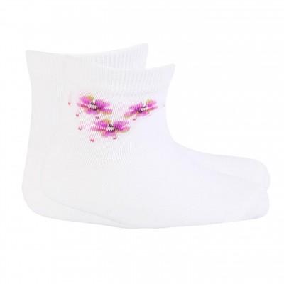 Gatta baltos plonos kojinės mergaitėms