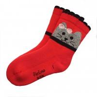 Frotinės kojinės mergaitei 0125