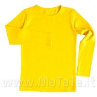 Ilgarankoviai marškinėliai (geltona)