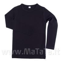 Ilgarankoviai marškinėliai (juoda)