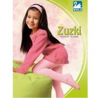 """Raudonos, plonos medvilninės pėdkelnės """"Zuzki"""""""