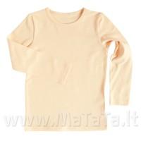 Ilgarankoviai marškinėliai (abrikosas)
