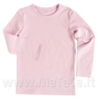 Ilgarankoviai marškinėliai (rožinė)