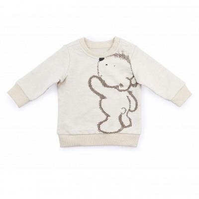 Can-Go šiltas su pūkeliu džemperis Bear