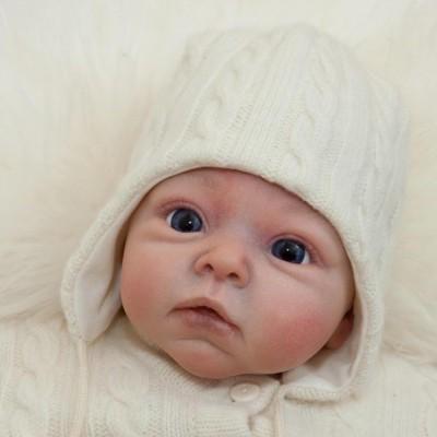 Lorita merino vilnos žieminė kepurė kūdikiui