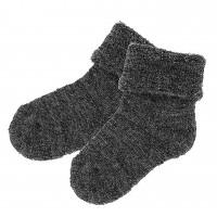 Lorita merino vilnos pilkos kojinės