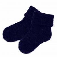 Lorita merino vilnos mėlynos kojinės
