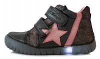Juodi LED batai 25-30 d. 0507DM