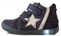 Violetiniai LED batai 31-36 d. 0507CL