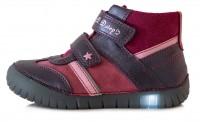 Tamsiai mėlyni LED batai 31-36 d. 0508BL