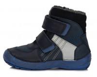 Tamsiai Barefeet mėlyni batai su pašiltinimu 25-30 d.023804M