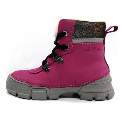 Rožiniai batai su pašiltinimu 25-30 d.0563BM