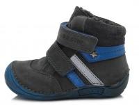 Pilki Barefeet batai su pašiltinimu 20-24 d. 01841A