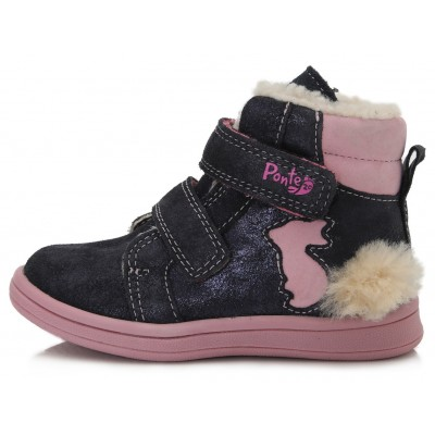 Tamsiai mėlyni batai su pašiltinimu  22-27 d. DA031373D
