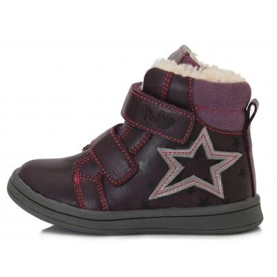 Violetiniai batai su pašiltinimu  22-27 d. DA031373