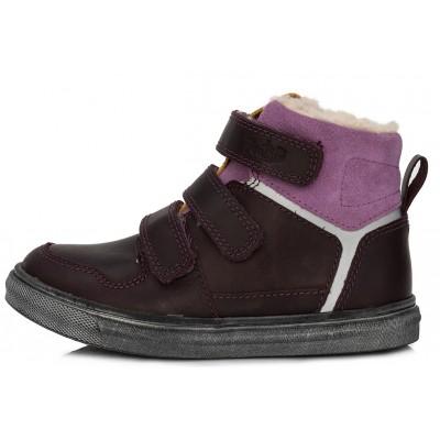 Violetiniai batai su pašiltinimu  28-33 d. DA061659C