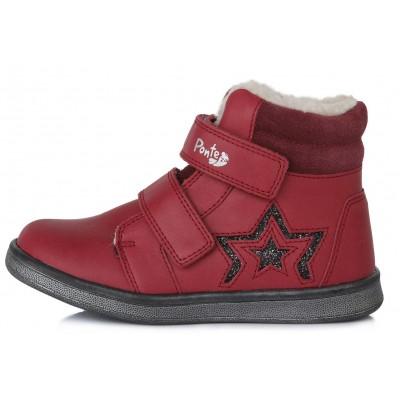 Raudoni batai su pašiltinimu  28-33 d. DA061671A