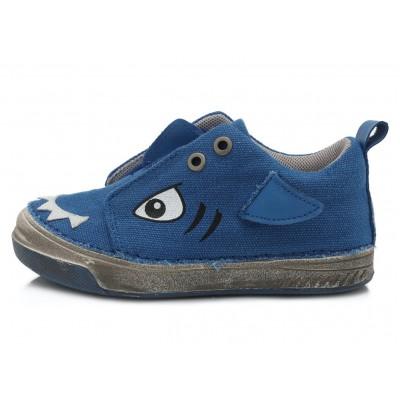 Mėlyni canvas batai 25-30 d. C040873M