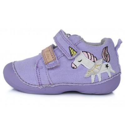 Violetiniai canvas batai 19-24 d. C015326A