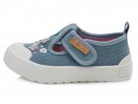 Šviesiai mėlyni canvas batai 20-25 d. CSG137