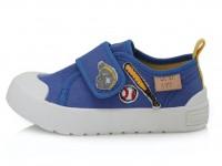 Mėlyni canvas batai 26-31 d. CSB136M