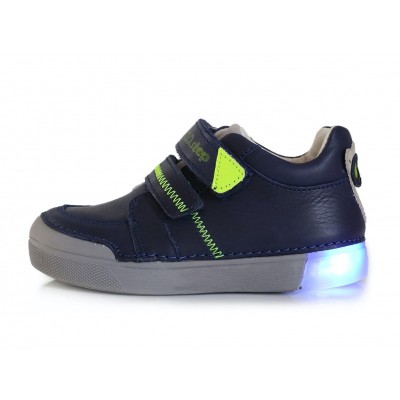 Mėlyni LED batai 31-36 d. 068402L