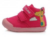 Rožiniai Barefeet canvas batai 20-25 d. C066371