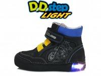 Juodi LED batai 31-36 d. 068352L