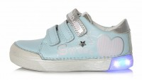Šviesiai mėlyni LED batai 25-30 d. 068691AM