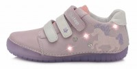 Violetiniai LED batai 25-30 d. 050272AM