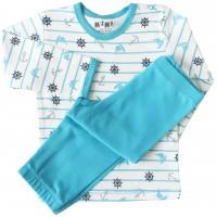 Nini organinės medvilnės komplektas-pižama
