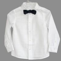 Balti stilingi marškiniai berniukui