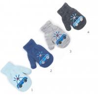 Vaikiškos kumštinės pirštinės su pašiltinimu 12 cm