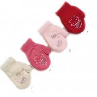 Vaikiškos kumštinės pirštinės su pašiltinimu 13 cm