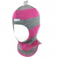 Vilnonė kepurė-šalmas mergaitei  1405/34