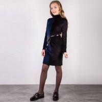 Suknelė Kris (mėlyna/juoda)