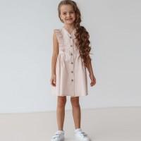 Plona medvilninė suknelė mergaitei Džein